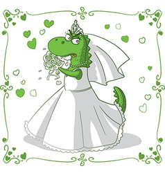 Bridezilla Cartoon vector image