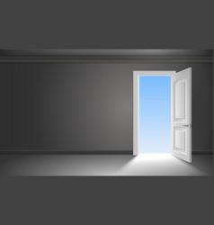 door into summer vector image