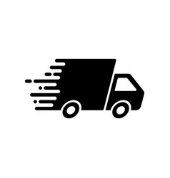 fast shipping icon vector image