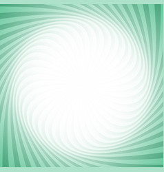 geometric swirl background from twisted rays vector image