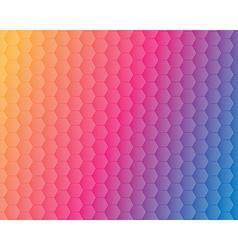 Hexagonal background vector