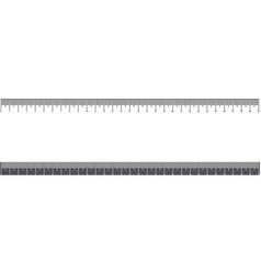 Ruler 30cm tool or scale of measurement school vector