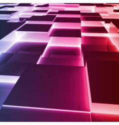 Abstract violet Square Box vector image