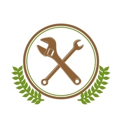 Construction tool equipment vector image