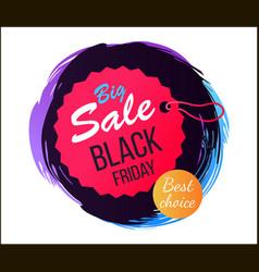 Big sale black friday best vector