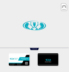 Hunting adventure logo template for corporate vector