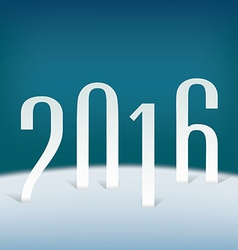2016 vector image vector image