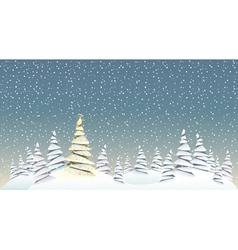 Christmas spirit vector image