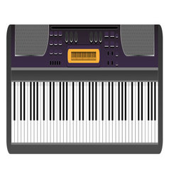 Music synthesizer vector image vector image