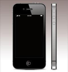 smartphone 4 vector image