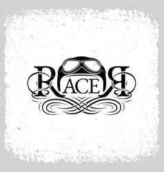 racer vector image vector image