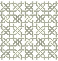 Arabic seamless pattern vector image