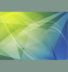 bright abstract technology polygonal wavy vector image