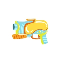 Colorful Fantastic Water Pistol vector