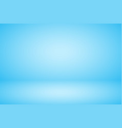 Empty pastel blue studio abstract background vector