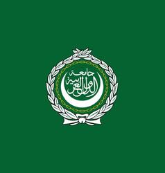 Flag of the arab league vector