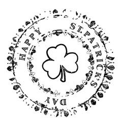 patrick grunge stamp v6 vector image