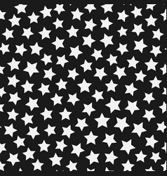 Stars chaos seamless pattern background design vector