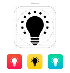 Less light icon vector image