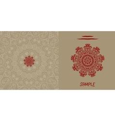 Wedding invitation card liginoru vector image