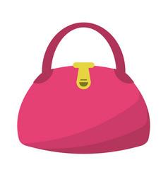 woman handbag fashion style vector image vector image