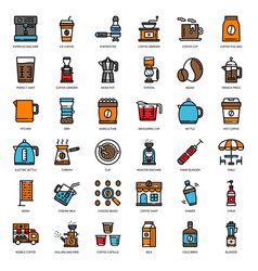 coffee story vector image