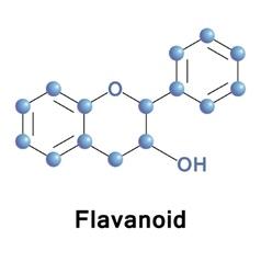 Flavonoid vector image