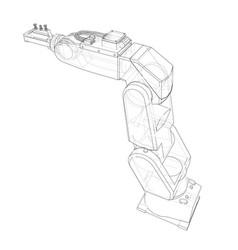 Industrial robot manipulator vector