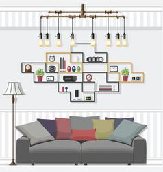 Living room suites vector