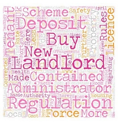New Rules For Buy To Let Landlords text background vector