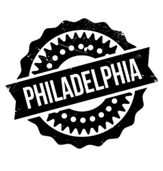 Philadelphia stamp rubber grunge vector
