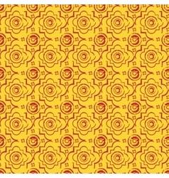 Seamless byzantine style background vector
