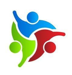 Business logo design hello 3 vector image vector image