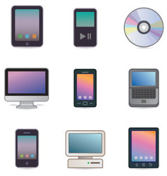 computers devices vector image