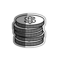 Coins money cash vector