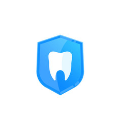 dental insurance icon vector image