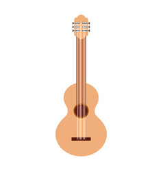 Guitar musical instrument icon vector