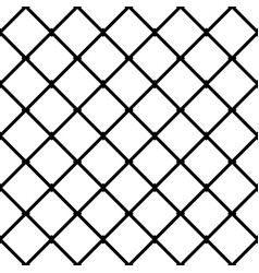 Interconnected squares seamless monochrome vector