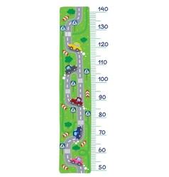 Road meter wall vector