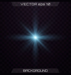 Set of light effects vector