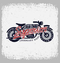 superior motorclub vector image