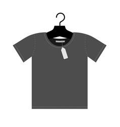 hanging t shirt vector image vector image
