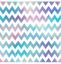 watercolor zigzag seamless pattern vector image vector image