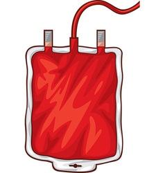 Blood Bag vector image vector image