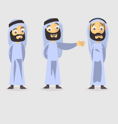 arabic character vector image