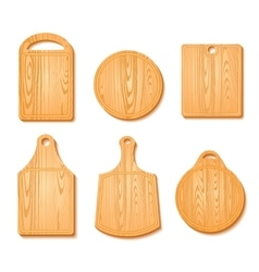 Cutting Board Icon Set vector