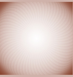 geometric spiral background from swirling rays vector image