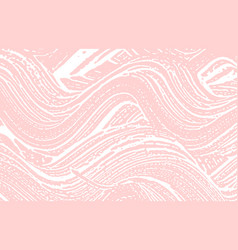 Grunge texture distress pink rough trace good-lo vector