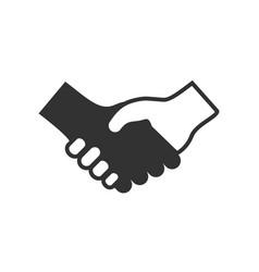 Handshake deal icon symbol design vector
