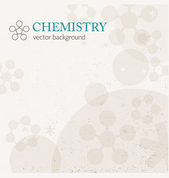 Light chemistry background vector